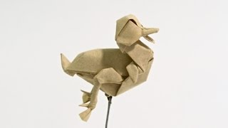 How to make an Origami Duckling