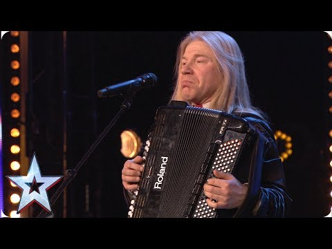 Will Igor's Electronic Accordion Win Over The Judges?   Auditions   BGT 2019