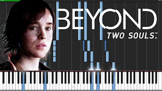 Beyond: Two Souls Medley [Piano Tutorial] (Synthesia)