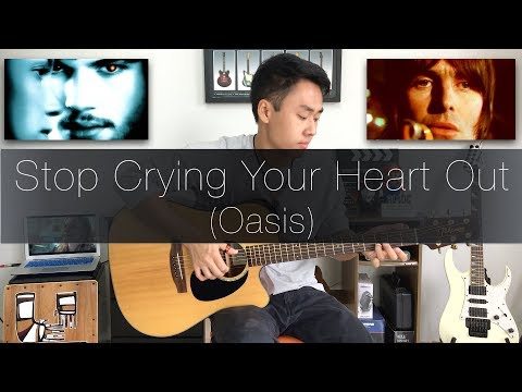 Oasis Stop Crying Your Heart Out - Rodrigo Yukio Fingerstyle Guitar Cover