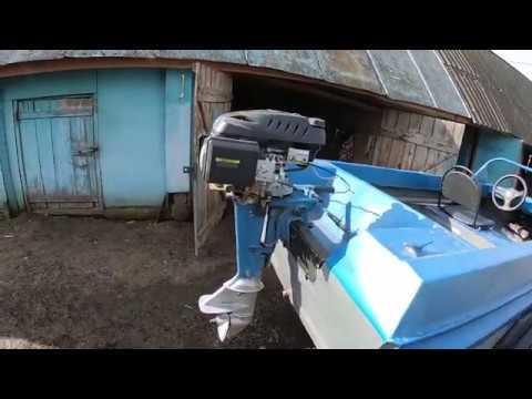 Champion G225VK Обзор Гибрид Ветерок+ лодка Неман 1( Выпуск № 2 дистанционное управление)