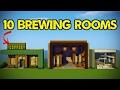 watch he video of 10 Minecraft Brewing Room Designs!