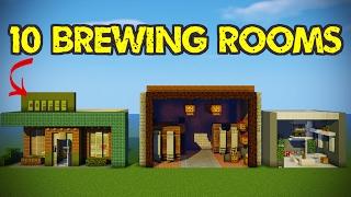 10 Minecraft Brewing Room Designs!