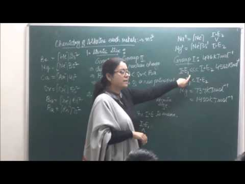CHXI-10-05 Chemistry of Alkaline earth metal(2016)  Pradeep Kshetrapal channel