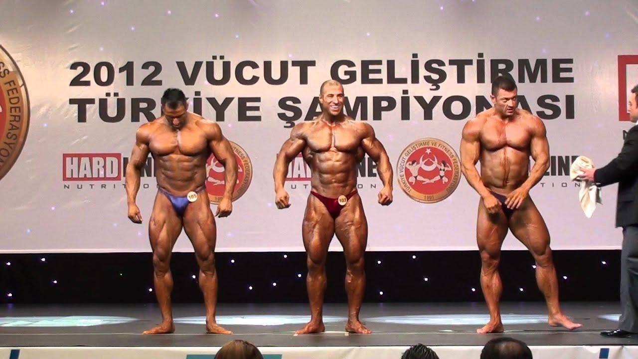 +100 kg Türkiye Vücut Geliştirme Şampiyonası Final