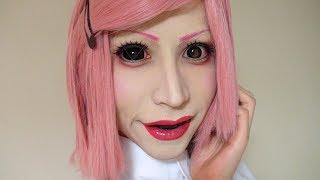 【音フェチ】少しメイク変えてみた!さくらメイク方法(化粧) 【ASMR】Cherry Blossom Makeup Tutorial