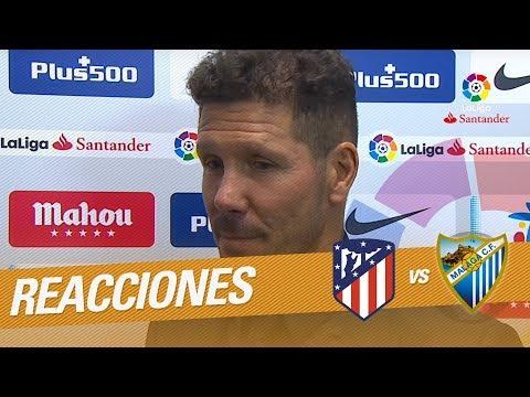 """Simeone: """"Insistiendo pudimos ganar el partido en una noche para el recuerdo"""""""