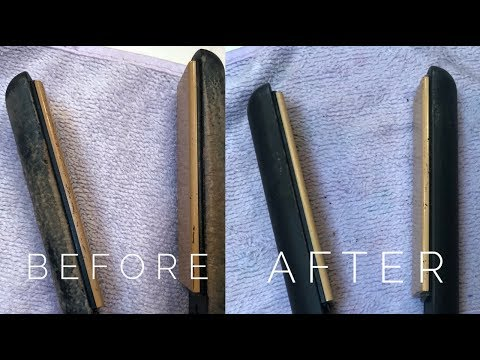HOW TO CLEAN A FLAT IRON OR CURLING IRON (All Natural Ingredients)