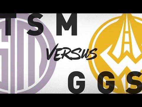 TSM vs. GGS - Week 7 Day 1 | NA LCS Summer Split | TSM vs. Golden Guardians (2018)