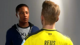 Fifa 17 - the journey #3 - borussia dortmund e real madrid (gameplay ps4/xone/pc)