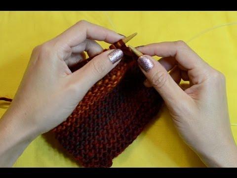 ASMR Knitting Tutorial