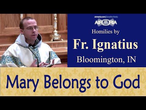 Presentation: Mary Belongs to God - Nov 21 - Homily - Fr Ignatius