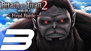 Attack on Titan 2 Final Battle - Gameplay Walkthrough Part 3 - Beast Titan (Full Game) PS4 PRO