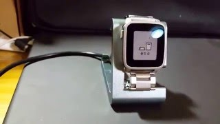 TimeDock charging Dock for Pebble Time & Steel Smartwatch First View