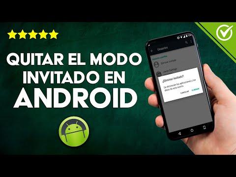 Cómo Bloquear o Quitar el modo Invitado en Android paso a paso