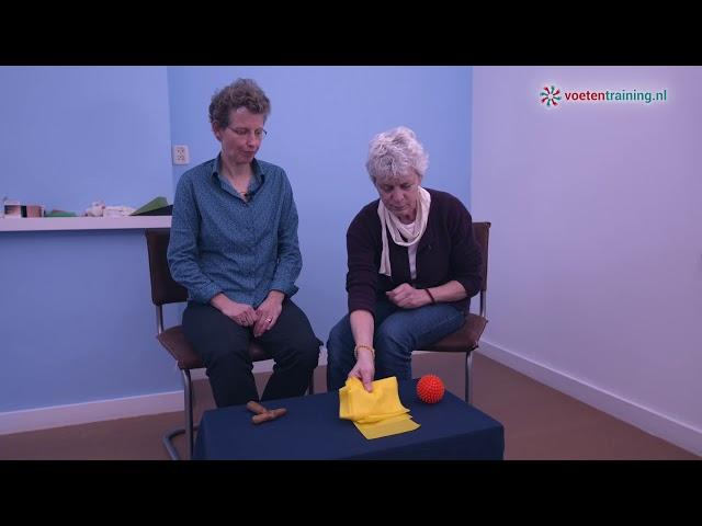 Gezonde voeten online training oefenmaterialen