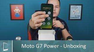 Motorola Moto G7 Power - Unboxing (MONSTRO DE BATERIA!) | Clube do Smartphone