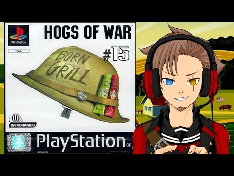 Let's Play Hogs of War part 15/23: The Geneva Convention, Solved