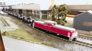 Nゲージ 165系 急行列車  DD51+タキ9900