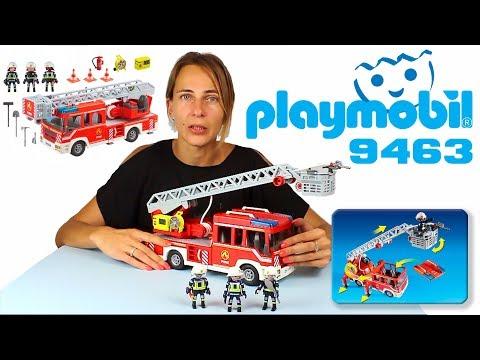 Пожарная бригада Playmobil 9463 (пожарная машина)