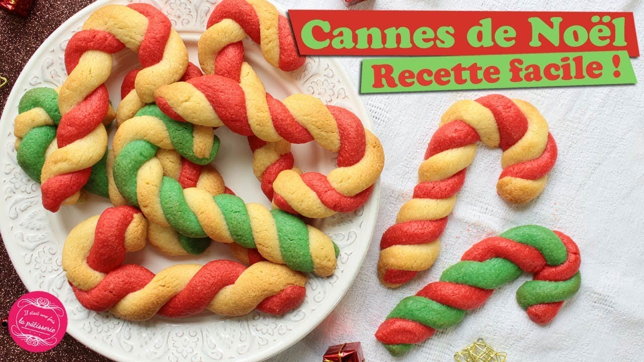 Recette De Noel Christmas Cannes Red And Green In Cookie