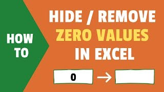 hide Zero Values in Excel  Make Cells Blank If the Value is 0