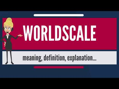 What is WORLDSCALE? What does WORLDSCALE mean? WORLDSCALE me