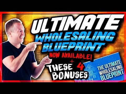Ultimate Wholesaling Blueprint - Step by Step Real Estate Investing Course - What's Included?!