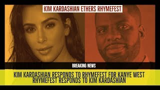 Kim Kardashian ethers Rhymefest in Her RESPONSE for Kanye West, Rhymefest Responds to Kim Kardashian