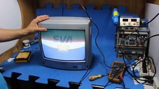 Como consertar TV SEMP sem som, mute