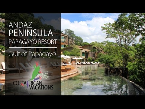 Andaz Peninsula Papagayo Resort with Frog TV by Costa Rican Vacations