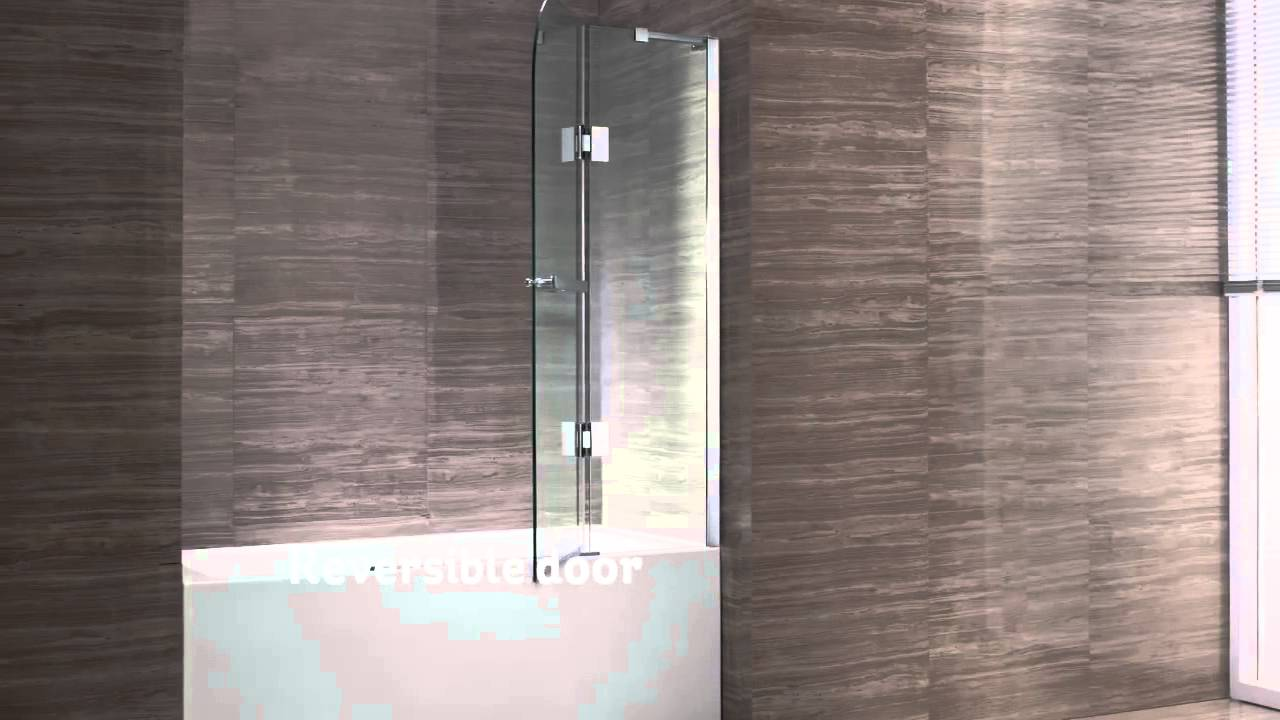 Genial New Waves Clark 40 Bathtub Screen