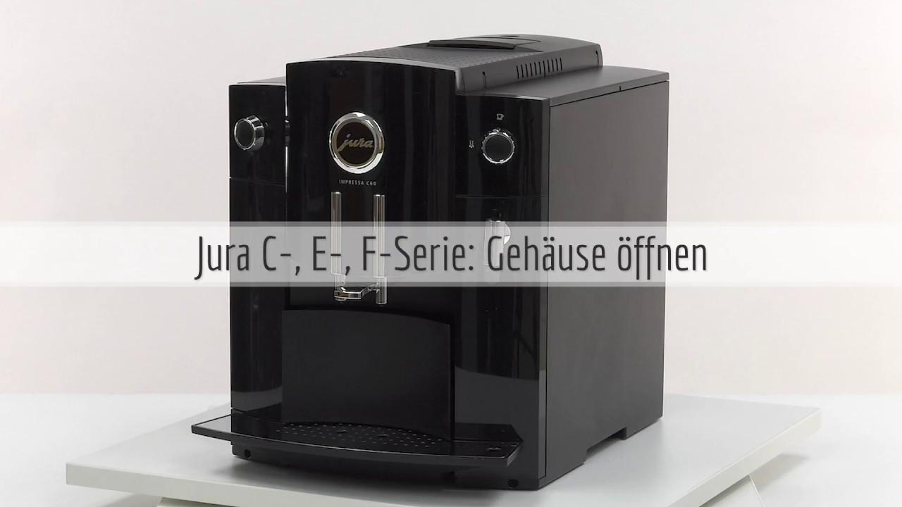 Fabulous Jura Kaffeevollautomat Gehäuse öffnen von C, D, E und F-Serie IV59