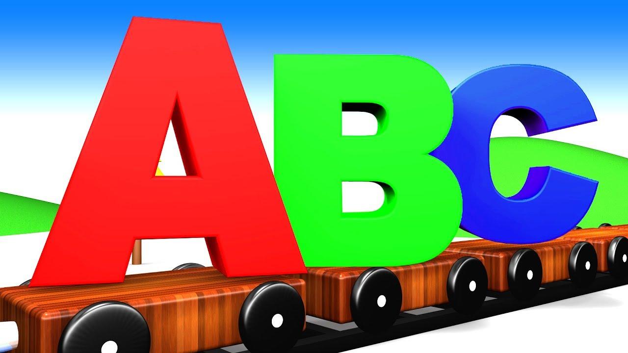 Alphabet Train for Kids | Teaching Alphabets to Kids | ABC Train