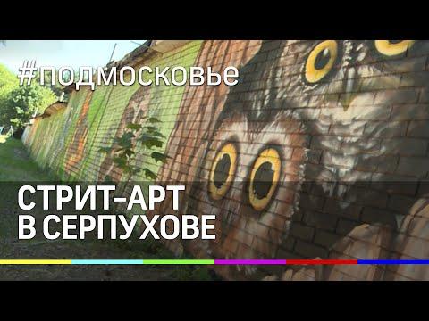 В Серпухове появился свой местный Бэнкси