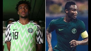 Nigeria release vibrant 2018 World Cup shirts