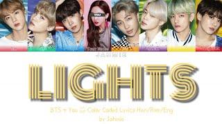 BTS |LIGHTS| COLOR CODED LYRICS KAN/ROM/ENG