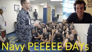 """Reacting to the """"Worst part of Navy Bootcamp"""" - RTC Great Lakes"""