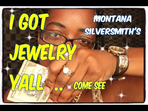I GOT JEWELRY YALL  ''MONTANA SILVERSMITH'S'' COME SEE THIS
