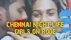 Chennai nightlife call girl on road . T Nagar bus stop opposite