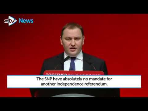 Ian Murray: SNP has no mandate for second independence referendum