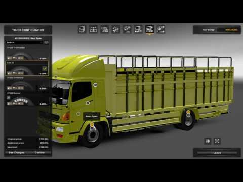 EURO TRUCK SIMULATOR 2 | Preview Hino Truck Series V.1.1 Free