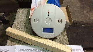 中国製の一酸化炭素検知器をロケットストーブでテストしてみた
