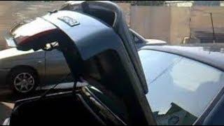 Газовые упоры от ВАЗ 2108 установил на багажник ВАЗ 2115 вместо торсионов багажника.