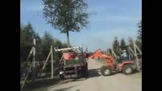 Video still for EZ Spot UR Attachments - Construction Equipment Attachment - Oak Pot Handler