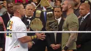 WWE Raw ending 12-9-13