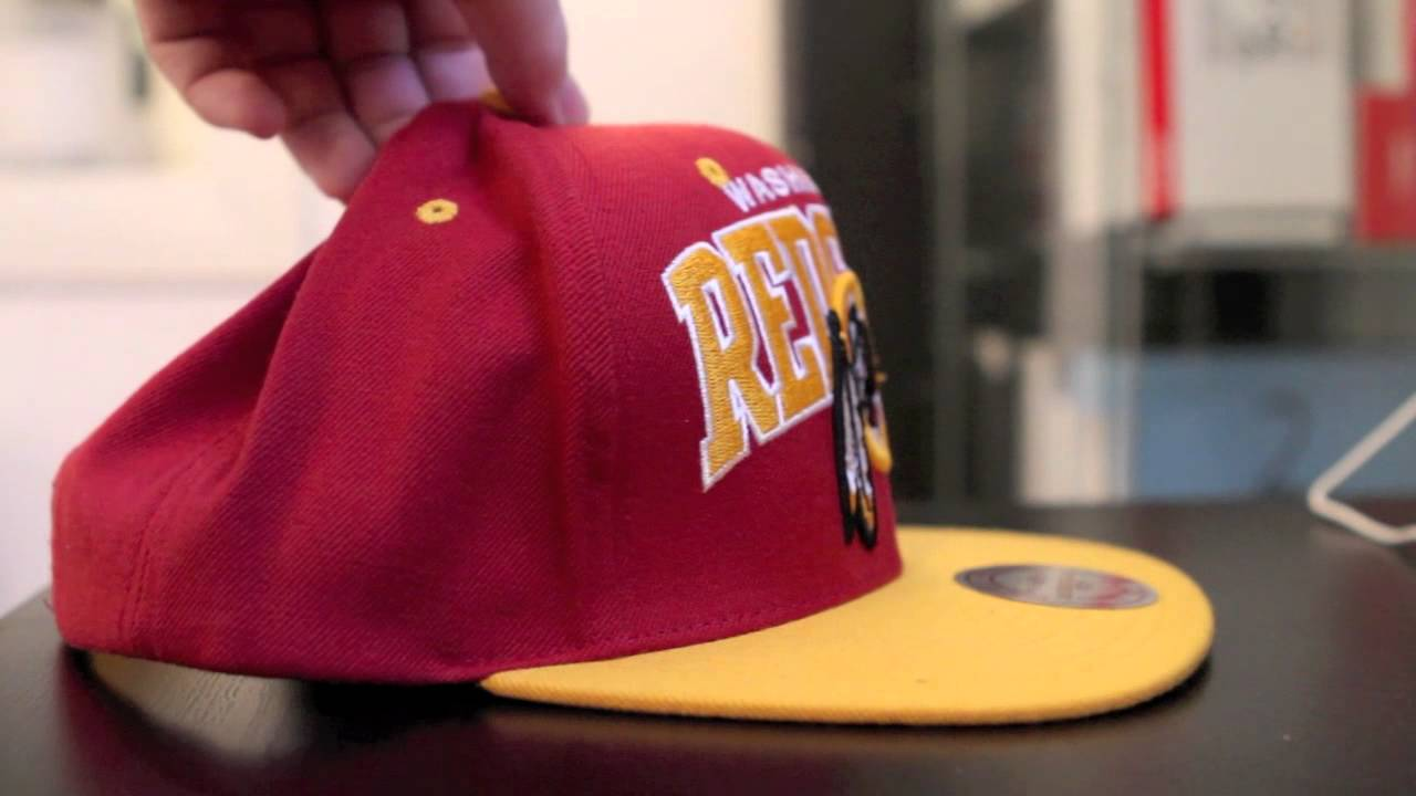 wholesale dealer 8852b 309a8 2# Pickup Mitchell and Ness / NFL Washington Redskins Snapback