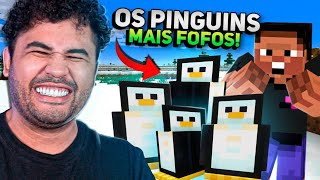 ENCONTRAMOS PINGUINS E OS RESGATAMOS! - MINECRAFT S02 #95