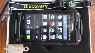 Телефон Discovery V8(Телефон Discovery V8. Недорогой водонепроницаемый противоударный с двумя сим картами телефон. Отличный сотовый..., 2015-12-22T13:58:06.000Z)