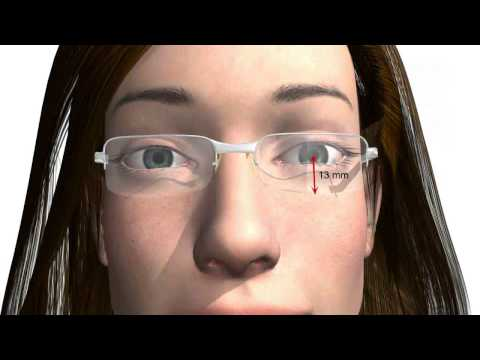 225d58fc9f2e Fitting Single Vision Lenses Glasses Correctly - Important for Eye Glasses  Bought Online - YouTube